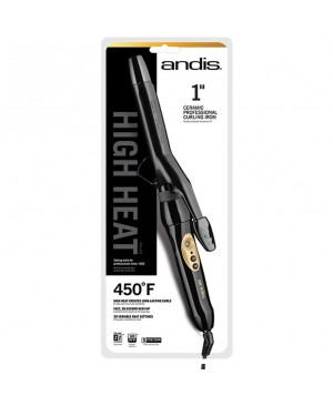 "Andis 1"" High Heat Curling Iron"