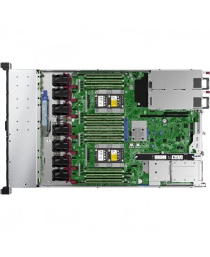 HPE ProLiant DL360 G10 1U Rack Server - 1 x Xeon Silver 4110 - 16 GB RAM HDD SSD - 12Gb/s SAS, Serial ATA/600 Controller