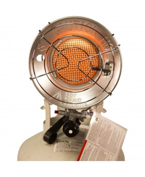 DuraHeat TT-15CSA Propane(LP) Tank Top Heater with Tip-over Shut-off