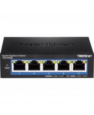 TRENDnet 5-Port Gigabit EdgeSmart Switch