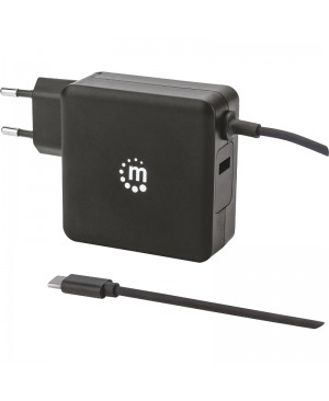 Manhattan Power Delivery Wall Charger with Built-in USB-C Cable - 60 W