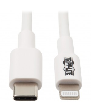 Tripp Lite Lightning to USB C Sync / Charging Cable Apple iPhone iPad 3ft 3'