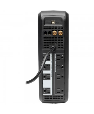 Tripp Lite UPS Smart 1000VA 500W Back Up Tower LCD AVR 120V USB Coax RJ45