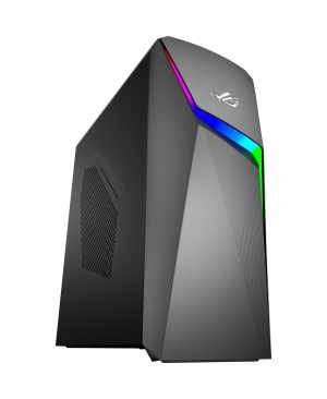 Asus ROG Strix GL10CS-DB762 Gaming Desktop Computer - Core i7 i7-9700K - 16 GB RAM - 1 TB HDD - 512 GB SSD - Tower - Iron Gray