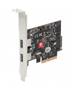 SIIG USB 3.1 2 Port PCIe Host Adapter - Type A