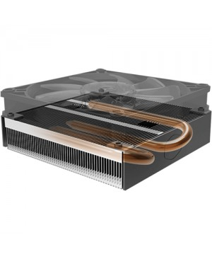Cooler Master MasterAir G200P Low-Profile 2 Heat Pipe Cooler With RGB Fan