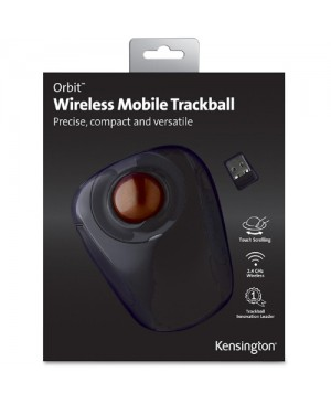 Kensington Orbit Wireless Trackball Mouse