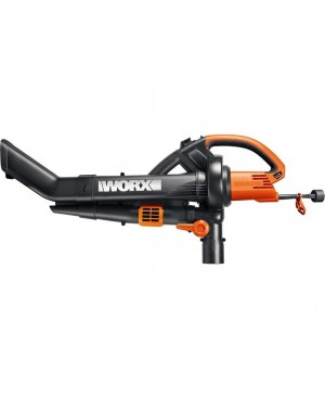 Worx TriVac Blower / Mulcher / Vacuum with All-Metal Mulching System