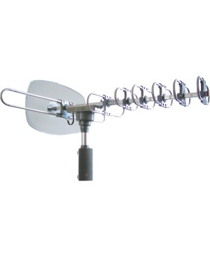 Supersonic 360º HDTV Digital Amplified TV Motorized Rotating Antenna