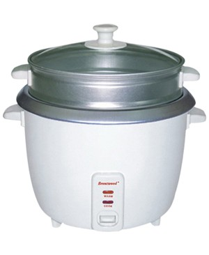 Brentwood TS-700S 4 Cup Rice Cooker and Steamer