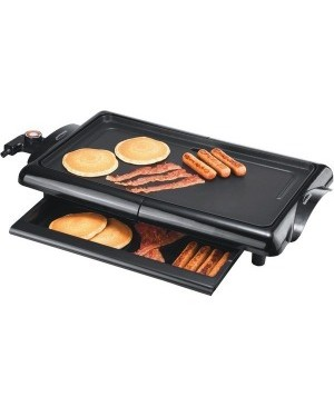 Brentwood Electric Griddle Non-Stick Black (TS-840)