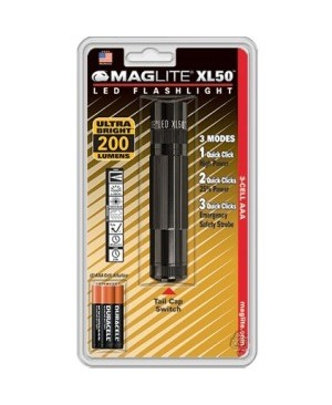 Mag-Lite XL50 LED 3-Cell AAA Flashlight