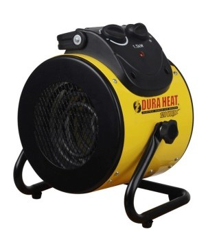 DuraHeat 1500 Watt Electric Forced Air Heater with Pivoting Base