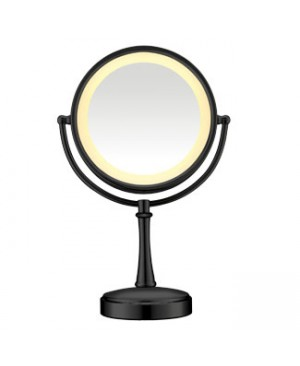 Conair Touch Control Lighted Mirror - Matte Black