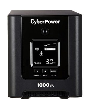 Cyberpower PFC Sine Wave OR1000PFCLCD mini-tower 1000VA 700W