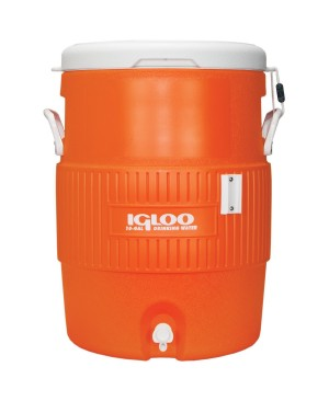 Igloo 10 Gallon Seat Top Water Jug With Cup Dispenser