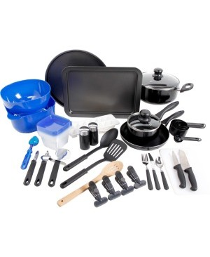 Gibson Home Total Kitchen 59 Piece Cookware Combo Set