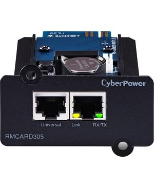 CyberPower RMCARD305 OL Series Remote Management Card - SNMP/HTTP/NMS/Environmental Port