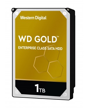 "WD Gold WD1005FBYZ 1 TB Hard Drive - 3.5"" Internal - SATA (SATA/600)"