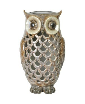 Coleman Cable 91581 Solar Powered White LED Owl