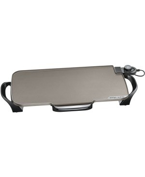 Presto 22 Inch Ceramic Electric Griddle with Removable Handles