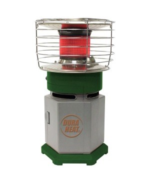 DuraHeat Single Tank Portable 360° Indoor Outdoor Propane Heater