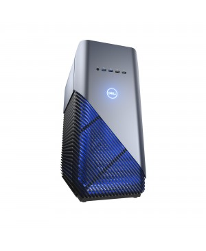 Dell Inspiron 5000 5680 Gaming Desktop Computer - Core i7 i7-8700 - 8 GB RAM - 1 TB HDD - 128 GB SSD - Mid-tower - Recon Blue