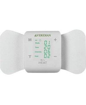 Veridian Healthcare Tens + Heat Wireless Pain Management Solution