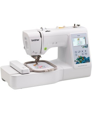 "Brother 4"" x 4"" Embroidery Machine with Large Color Touch LCD Screen"