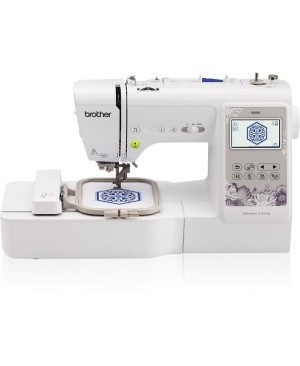"""Brother Computerized Sewing and Embroidery Machine with 4"""" x 4"""" Embroidery Area"""