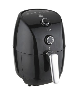 Brentwood AF-15MBK 1.6 Quart Small Electric Air Fryer, Timer & Temp. Control