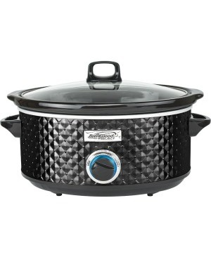Brentwood Select SC-157BK 7 Quart Slow Cooker, Black