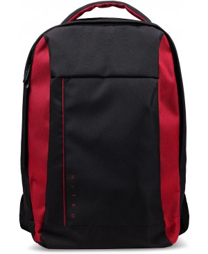 "Acer Carrying Case (Backpack) for Acer 15.6"" Notebook, Tablet - Black with Red Accent"
