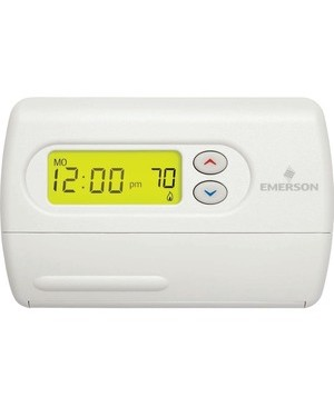 Emerson Thermostat-Classic 80, Single Stage Programmable 1F80-361