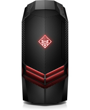 HP OMEN 880-100 880-191 Gaming Desktop Computer - Core i7 i7-9700K - 16 GB RAM - 2 TB HDD - 512 GB SSD