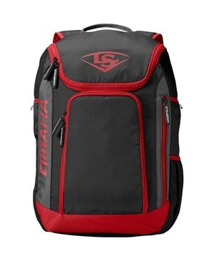 Louisville Slugger Omaha Carrying Case (Backpack) Bat - Scarlet