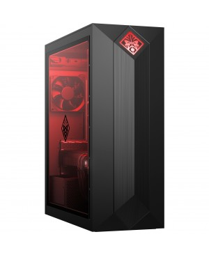 HP OMEN Obelisk 875-0000 875-0035qe Gaming Desktop Computer - Core i7 i7-8700 - 16 GB RAM - 2 TB HDD - 256 GB SSD - Shadow Black - Refurbished