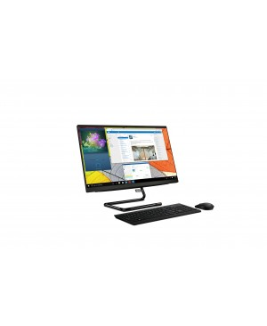 """Lenovo IdeaCentre A340-22ICK F0ES0072US All-in-One Computer - Intel Pentium Gold G5420T 3.20 GHz - 4 GB RAM DDR4 SDRAM - 1 TB HDD - 21.5"""" Full HD 1920 x 1080 Touchscreen Display - Desktop - Business Black"""