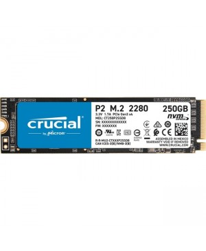 Crucial P2 CT250P2SSD8 250 GB Solid State Drive - M.2 2280 Internal - PCI Express NVMe (PCI Express NVMe 3.0 x4)