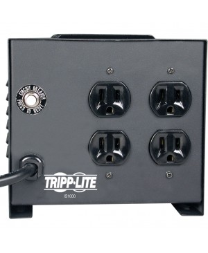 Tripp Lite 1000W Isolation Transformer with Surge 120V 4 Outlet 6ft Cord HG TAA GSA