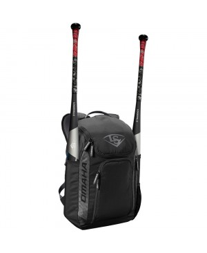 Louisville Slugger Omaha Carrying Case (Backpack) Bat - Black
