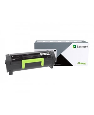 Lexmark 501G - black - original - toner cartridge - LRP, government GSA