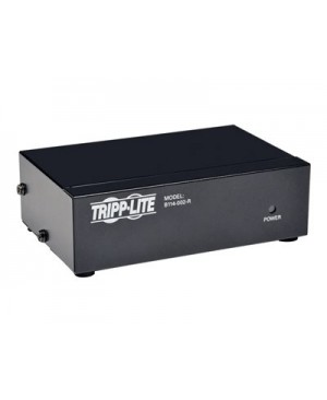 Tripp Lite 2-Port VGA / SVGA Video Splitter Signal Booster High Resolution Video - video splitter - 2 ports