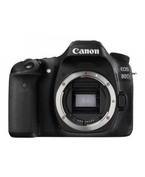 Canon EOS 80D - Digital camera - SLR - 24.2 MP - APS-C - 1080p / 60 fps - body only - Wi-Fi, NFC