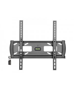 """Tripp Lite Heavy-Duty Tilt Security Display TV Wall Mount for 32"""" to 55"""" TVs and Monitors, Flat or Curved Screens - wall mount"""