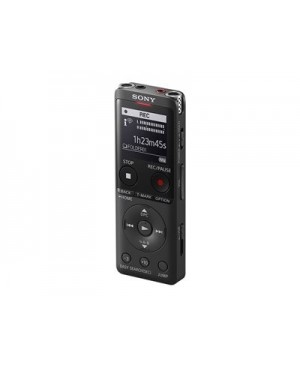 Sony ICD-UX570 - Voice recorder - 4 GB - black