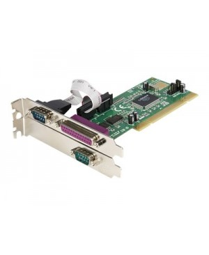 StarTech.com 2S1P PCI Serial Parallel Combo Card with 16550 UART - parallel/serial adapter - 3 ports