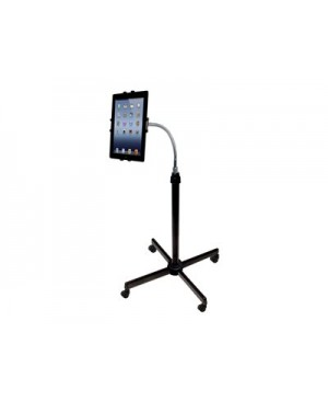 CTA Height-Adjustable Gooseneck Stand with Casters - stand