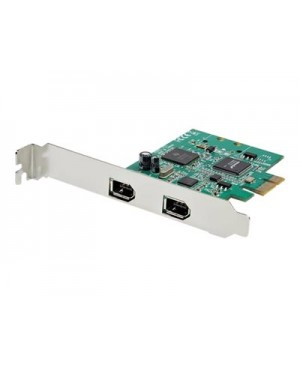 StarTech.com 2 Port 1394a PCI Express FireWire Card - PCIe FireWire Adapter - FireWire adapter
