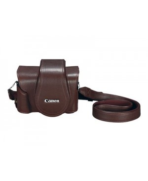 Canon Deluxe PSC-6300 - Case for camera - leather - for PowerShot G1 X Mark III